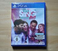 PS4 - Let´s Sing 2018 - Mit deutschen Hits! - (Neuware)