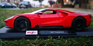 Maisto 1:18 Scale Ford GT 2017 Red Diecast Model Car Special Edition SEE VIDEO