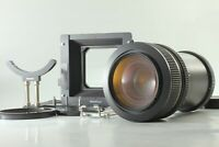 【Optical TOP MINT & Bellows Hood Set】Mamiya Zoom Z 100-200mm f/5.2 W From JPN811