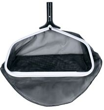 "Heavy Duty Swimming Pool Skimmer Leaf Rake w/HD Mesh Net & 18"" Aluminum Frame"