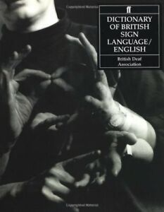 Dictionary of British Sign Language: Compiled by th... by Mary Brennan Paperback