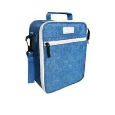 NEW Sachi Insulated Lunch Bag with Carry Strap and Zip - Denim - 225