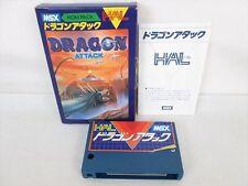 MSX DRAGON ATTACK Import Japan Video Game 0298 msx