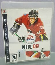 N) NHL 09 (Sony PlayStation 3, 2008) Sports Hockey Video Game