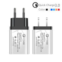 Wall Charger For iPhone 8 X XS XR Xiaomi Mi 9 Mi8 Quick Charge 3.0 USB Adapter