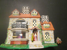 Partylite - Olde World Village - Bristol House #3 Flower Cart included