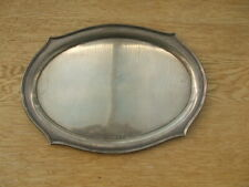 More details for sterling silver tray, salver or dish  w j myatt b'ham 1902