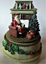 music box, A spinning Christmas scene (speeldoos, Een draaiende kerst tafereel)
