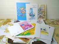 Vtg Greeting Card Lot Mixed Gift Blank Current Fantusy Sunshine English Unused