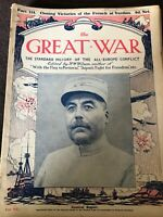 Early Vintage WW1 Magazine - The Great War - Issue / Part 114 October 21st 1916