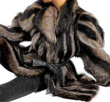 M L Waschbär Pelzjacke Jacke raccoon fur jacket Pelz Jacket coat raton laveur
