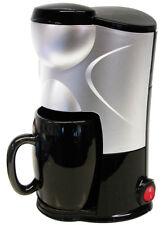 12 VOLT ONE CUP COFFEE MAKER CAR VAN CARAVAN CAMPING