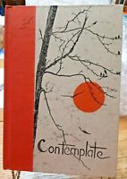 CONTEMPLATE Gwen Frostic Poetry Prints 1973 signed