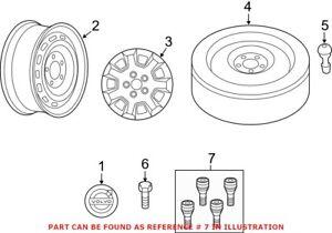 Genuine OEM Wheel Lock Set for Volvo 31439226
