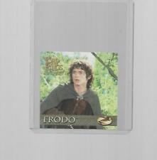 2003 TOPPS LORD OF THE RINGS THE RETURN OF THE KING MINI FRODO #04