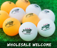 Wholesale DHS D40+ 3-Stars New Material Table Tennis Balls Plastic PingPong Ball