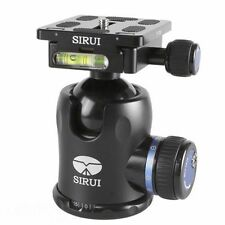 SIRUI K-30X Ball Head 66lb Load Camera Tripod Monopod with Quick-Release Plate H