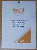 HAWID SCHAUFIX Block MOUNTS CLEAR Pack of 10 115mm x 164mm - Ref. No.2237
