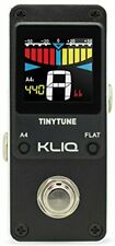 KLIQ TinyTune Tuner Pedal for Guitar and Bass - Mini - Chromatic - with...