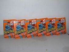 6 Pack Lot 1990 DONRUSS MLB  CARDS  and PUZZLE PIECES  CARDS