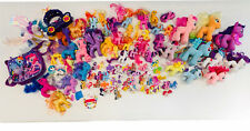 🌈 My Little Pony • Lot Of 90 - 100 Assorted Ponies Plush Accessories • 🦄🔥🌈