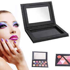 Black Cosmetic Empty Magnetic Makeup Palette DIY Eyeshadow Blush Powder 135x97mm