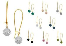 AnM - Stunning Pave Rhinestone INTERCHANGEABLE Earring - 7 Colours - E219