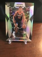 2019-20 Panini Prizm Draft Picks DE'ANDRE HUNTER RC Silver Rookie No 4 HAWKS