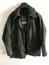 Mens Barbour Beaufort wax jacket Dark Blue coat 40 in size Medium / Large M/L