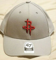 Houston Rockets '47 MVP Gray / Red Strapback Adjustable Hat Cap New