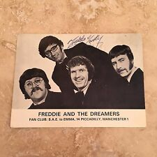 Freddie Garrity - Freddie And The Dreamers Sighed Autographed Picture