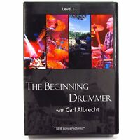 The Beginning Drummer with Carl Albrecht - Drumming How-To Instruction DVD
