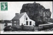 LOGUIVY (22) DOUANIER au CORPS de GARDE de la DOUANE en 1913