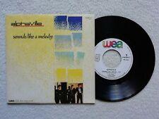 """45T 7"""" ALPHAVILLE """"Sounds like a melody"""" WEA 249 366-7 FRANCE 1984 /"""
