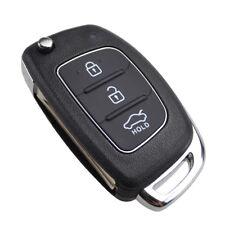 Flip Remote Key Shell for Hyundai I20 Tucson I40 Santa fe ix35 ix45 With Blade