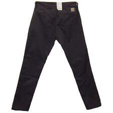 Carhartt Sid Pantalón Pantalón Chino cónico ajuste Herrero W36 L32 £ 65.00