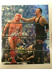 Undertaker & Ric Flair WWE Autographed 8x10 Photo with COA