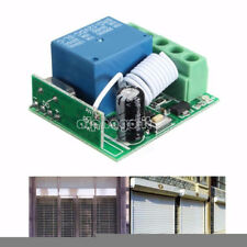 DC 12V 10A 1 Channel CH Wireless Relay RF Remote Control Switch Receiver 433MHZ