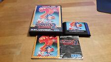 Sonic 2 Sega Mega Drive komplett MD PAL CIB