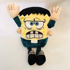 Halloween Frankenstein SpongeBob Squarepants Ty Beanie Plush NWT