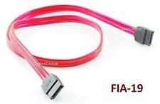 19 inch SATA-II (Serial-ATA) to SATA-II 7-Pin Red Data Cable - FIA-19