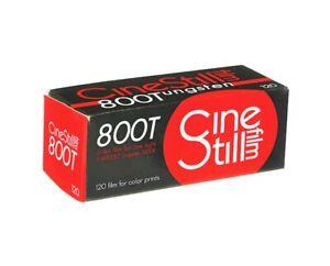 3 x Rolls CINESTILL 800T TUNGSTEN COLOR NEG Film--120 MED FORMAT-expiry: 08/2022