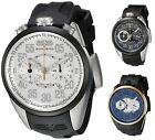 Bomberg Men's NS44CHTT 1968 44mm Chronograph Rubber Watch - Choice of Color