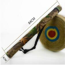 Archery Tube Arrow Quiver Bag Hunting Recurve Compound Bow Back Holder 12x Arrow
