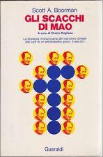 Boorman, Gli scacchi di Mao, Guaraldi, Pugliese, Mao, Cina, 1973, marxismo