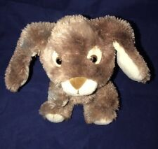 Build A Bear SmallFrys Brown Bunny Easter 2012 Retired BABW Plush Musical Lovey