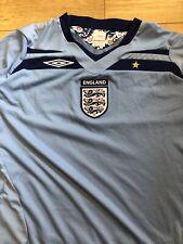 Umbro Inglaterra Camiseta De Fútbol Azul XL 2008 2010