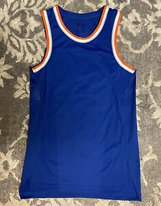 Nike NBA New York Knicks Aeroswift Blank Basketball Jersey Mens Sz 40 Small NEW!