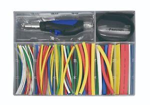 Astro Pneumatic 9472 162 Piece Butane Micro Pencil Heat-Shrink Torch Kit