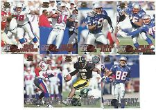 1997 Pacific Silver & Copper New England Patriots 7 card lot